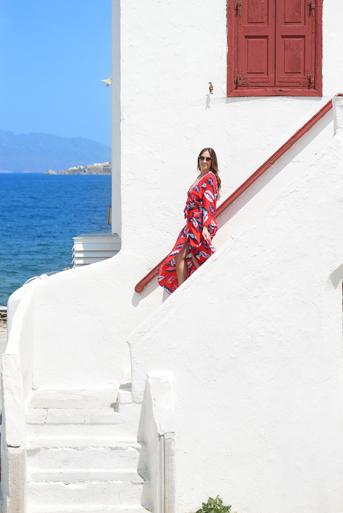 Photosession in Mykonos island