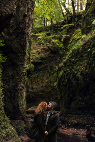 Couples shooting in Highlands -Scotland
