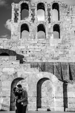 Couple's Photography Athens odeon of herodes atticus
